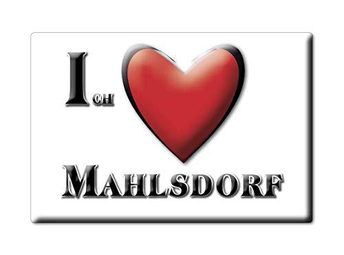 Enjoymagnets MAHLSDORF (BE) Souvenir IMANES DE Nevera Alemania Berlin IMAN Fridge Magnet Corazon I Love