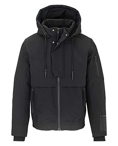 Tigha Eason Herren Jacke, Farbe:Schwarz, Größe:S