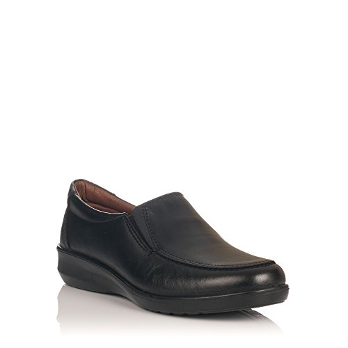 LUISETTI 0302 Zapato Profesional Piel Mujer Negro