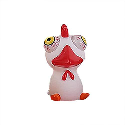 Juguete de pato para apretar los ojos, juguetes creativos para aliviar el estrés para el autismo, ojos suaves y elásticos que salen animales sensoriales para niños - 4