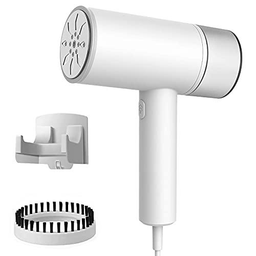 Czemo Plancha Vertical Vapor 1200W 200 ml, 15s Calentando Rápidamente Elimina Arrugas/Esterilización/remoción de alta temperatura de ácaros Plancha Vertical para Hogar y Viaje