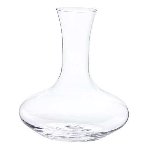 Bormioli Dekanter 'Electra' aus Kristallglas | Weindekanter mit maximaler Füllmenge 1,6 Liter | Weinkaraffe zum belüften Ihrer Weine | 18,5 cm Durchmesser an der bauchigsten Stelle