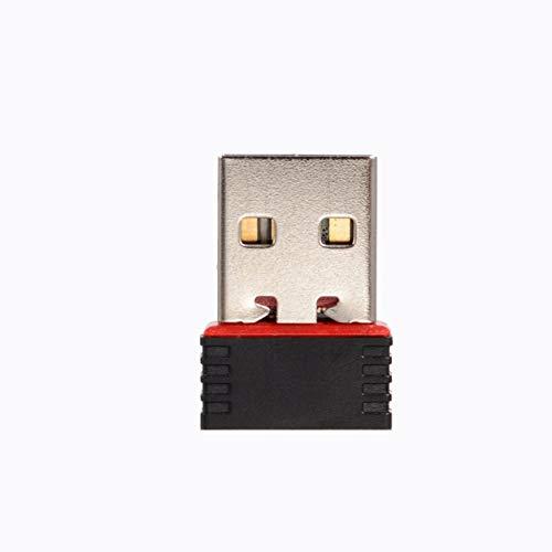 DDyna 150Mbps 150M Mini USB WiFi Adaptador inalámbrico Red Tarjeta LAN 802.11n / g/b Mini Bolsillos portátiles Adaptador de receptores USB WiFi