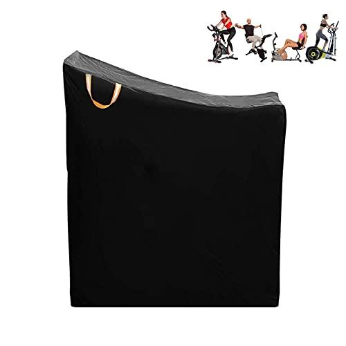 Rubeyul Funda protectora para bicicleta, para interior y exterior, resistente al polvo, impermeable, tela Oxford 420d, color negro