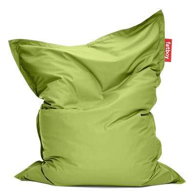 Fatboy® Original Outdoor limegrün Acryl-Gewebe Sitzsack | Klassischer Beanbag für draußen, Sitzkissen | 180 x 140 cm