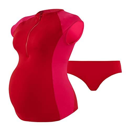 Cache Coeur Damen Dolce Tankini-Set, rot, M