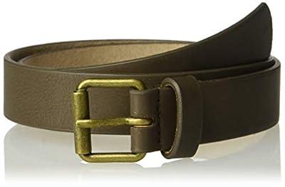 Oshkosh B'gosh Toddler Boys Brown Adjustable Faux Leather Belt, 12-14yr