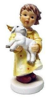 Hummel Jahres-Engel Engel mit Lamm Jahresengel 2012
