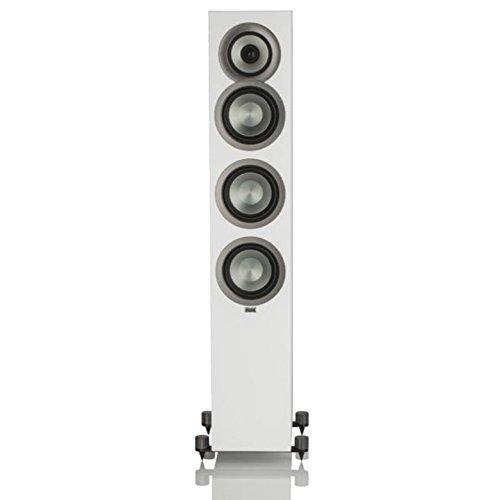 Best Bargain Elac Uni-FI Uf5 Floorstanding Speaker (Finished Satin White Cabinet, Single) (FS U5-SW)