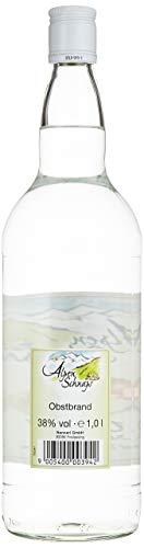 Alpenschnaps |Steinbeisser | 1 x 1l | Obstler | pures Alpenglück im Glas - 5