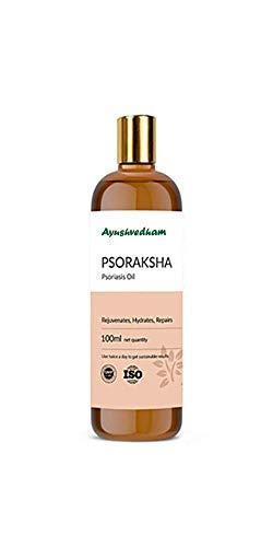 Ayushvedham Psoraksha Ayurvedic Oil for Psoriasis