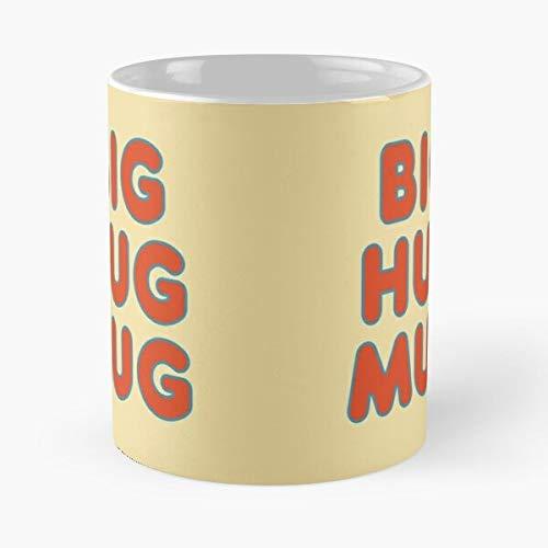 Orangeburps Big Hug Coffee True Beverages Detective Tea Taza de café con Leche 11 oz