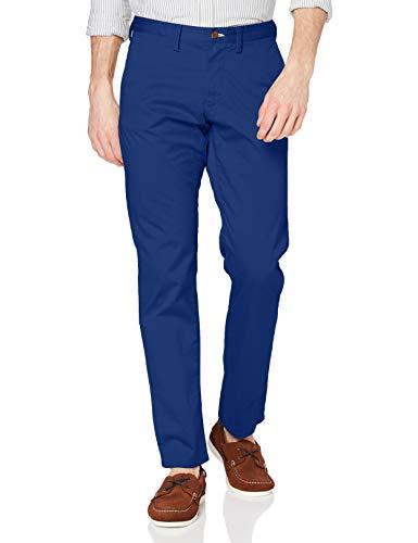GANT Regular Twill Chino Pantalón de Vestir, Azul nítido, 40W/32L para Hombre