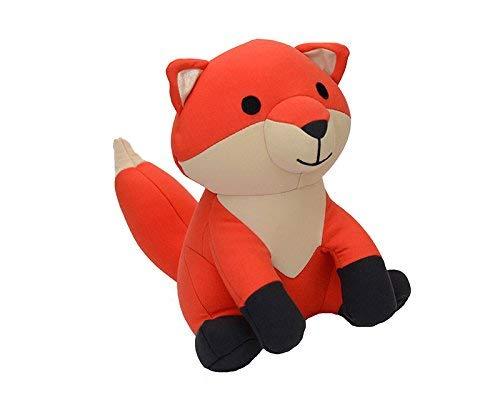 Yogibo Mates Stuffed Animals, Huggable Cute Plush Toys for Kids, A Soft Huggable Friend, Sensory Toy with Soft Mini Bean Fill, Fox