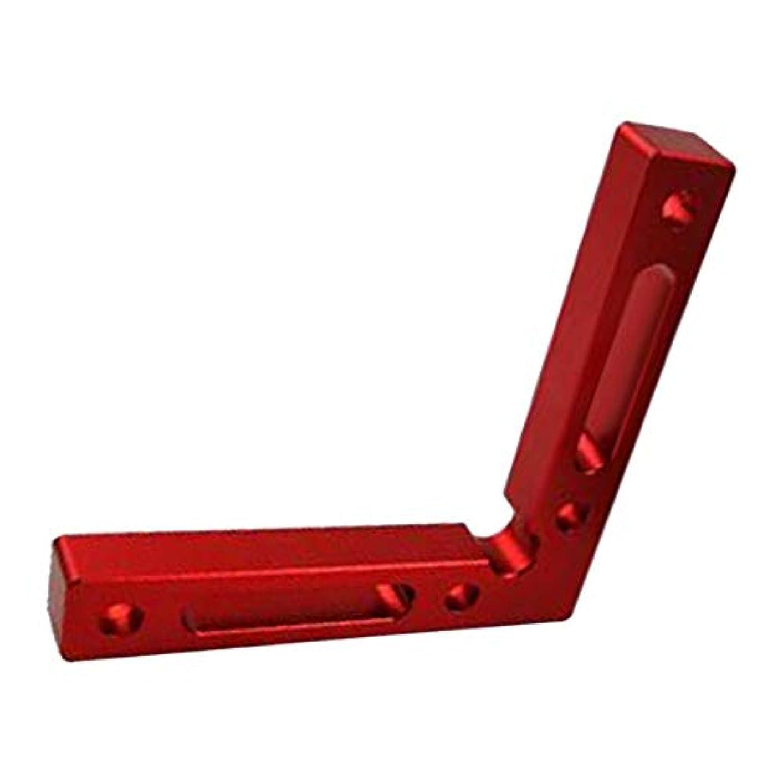 グラマー賠償面倒FutuHome 90度位置決め正方形直角クランプ12x12cm木工ツール