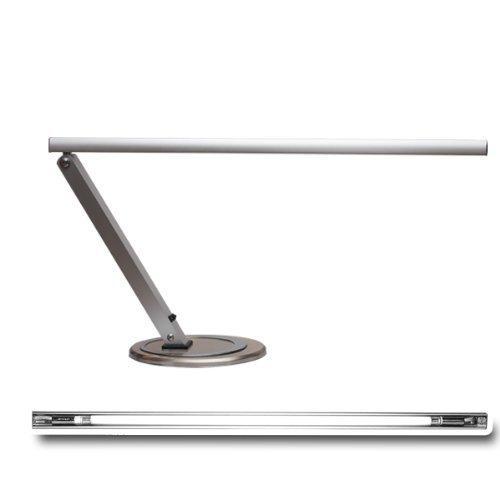 Lampada da lavoro dal design esclusivo incl. lampadina (argento)