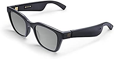 Bose 831744-0100 Frames Audio Sunglasses, Alto, Small/Medium (Global Fit), Black