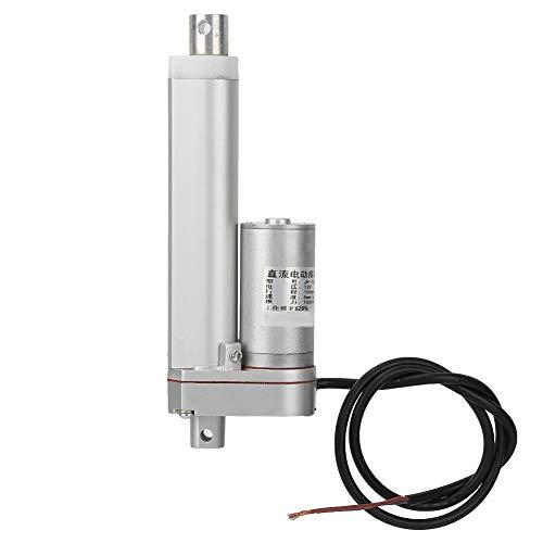 Actuadores de Movimiento Lineal 100 mm DC 12V Putter eléctrico Actuador eléctrico Lineal Putter para Puertas/Ventanas, Actuador Lineal eléctrico Putter Motor de Servicio Pesado
