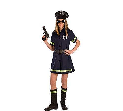 Disfraz de Polica Local para nia P2-(6/7 aos)