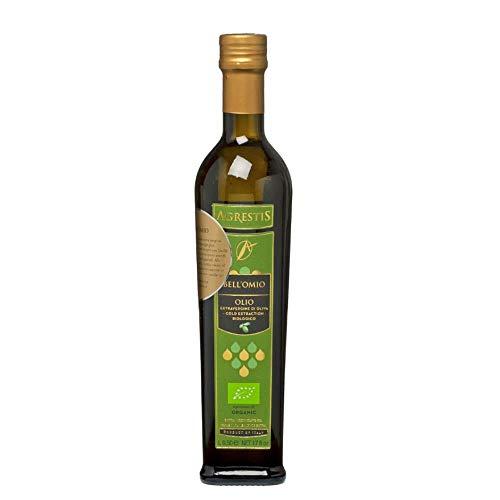 GreenBites: Agrestis Bell'Omio - Biologisches, preisgekröntes extra vergine (kaltgepresst) OlivenÖl aus Sizilien |500 ML| Neue Ernte 2019/2020