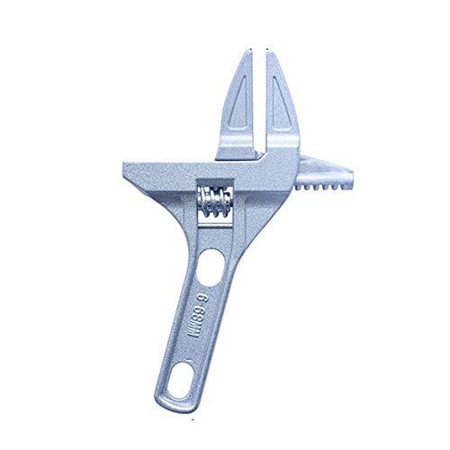Cloverclover Verstellbarer Schraubenschlüssel Universal Schlüssel Mutterschlüssel Schlüssel Heimgebrauch Handwerkzeuge Multitool