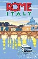 ローマイタリア大型ティンサイン壁鉄絵レトロプラークヴィンテージ金属シート装飾ポスターおかしいポスターぶら下げ工芸品バーガレージカフェホーム
