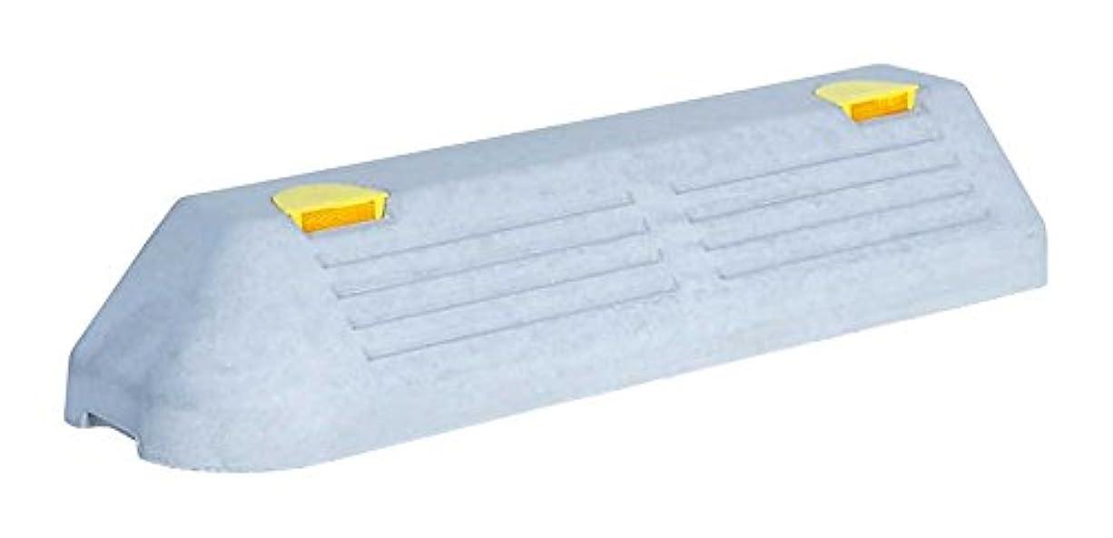 儀式チチカカ湖触手NSP-120L コンクリートアンカー付 パーキングブロック 高120×幅180×長600mm