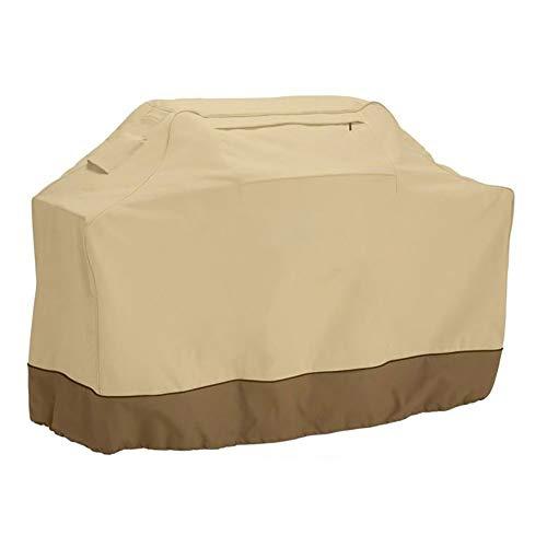 YMYP08 Outdoor-Grill-Abdeckung, Beige Sonnenschutz Wasserdicht BBQ Cover, Schwer Grill-Schutzhülle (Size : 178 * 61 * 122cm)