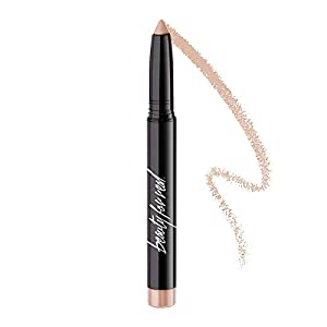 Beauty For Real Shadow Stx, Ever Starstruck - Universal Champagne Shimmer Highlighter - Waterproof, Cream-to-Powder Eyeshadow Stick - Built-in Sharpener - 0.05 oz