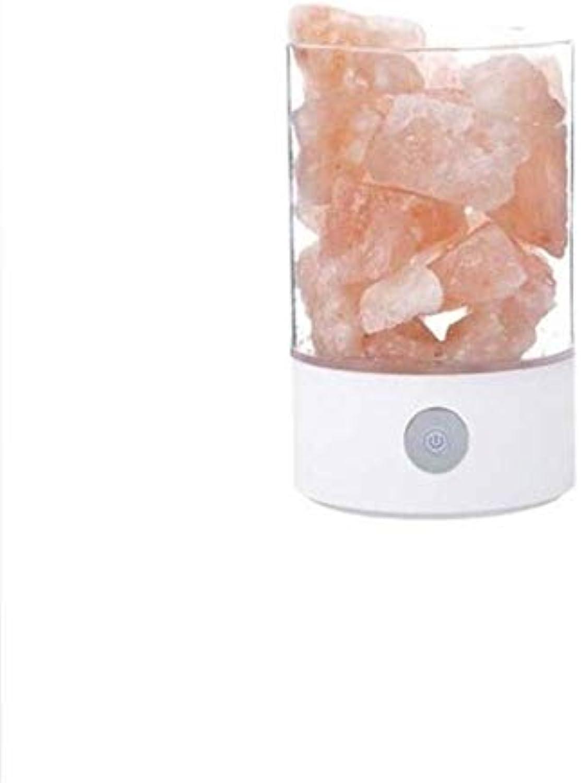 Hai Ying   Schreibtischlampe USB Kristall Licht Natürliche Himalaya Salzlampe Led Lampe Luftreiniger Stimmung Creator Indoor Warm Light Tischlampe Schlafzimmer Lava Lampe