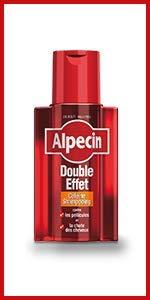 Alpecin Shampoo mit doppeltem Effekt, 200 ml, 2 Stück