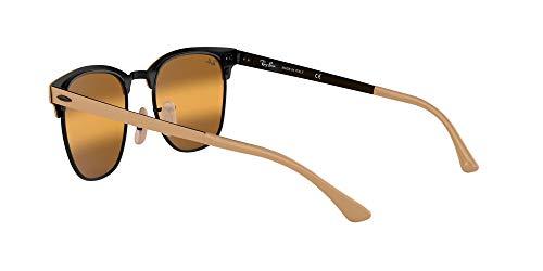 Fashion Shopping Ray-Ban Rb3716 Clubmaster Metal Square Sunglasses