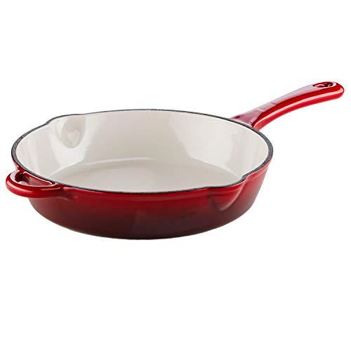 Genius Ironfit Brat-Pfanne Induktions-Pfanne Keramik-Pfanne in braun Ø 26 cm mit kratzfester Antihaft-Beschichtung für gesundes Kochen ohne Fett und Öl