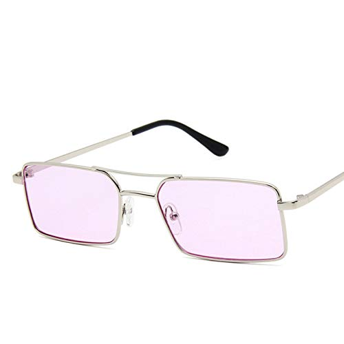 ATARSM Gafas de Sol para Mujer con Estuche para Gafas Gafas de Sol Retro clásicas para Mujer Gafas de Sol de Metal Espejo Vintage Uv400