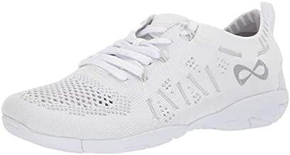 Nfinity Flyte Cheer Stunt Shoe Sneaker, White, 4 Regular US