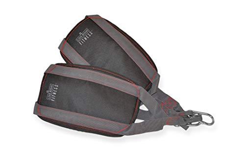Iron Gym Total AB Workout - Cinturón para ejercitar los Abdominales, Color Negro