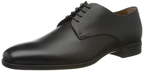 BOSS Kensington_derb_pr Zapatos de cordones derby Hombre, Negro (Black 1), 44 EU (10 UK)