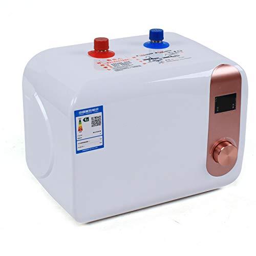 Elektrischer Wasserspeicher 8L Große Kapazität Warmwasserbereiter Heizung Küche für Küche,Bad