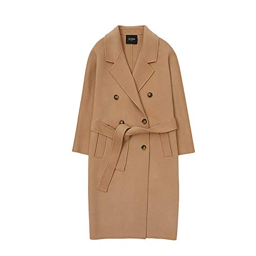 KgByy Vrouwen Trench Womens Coat Woll jas voor vrouwen Wol Mix Mode Jacket Trench Coat Vrouwen Winter Warm XS ~ M