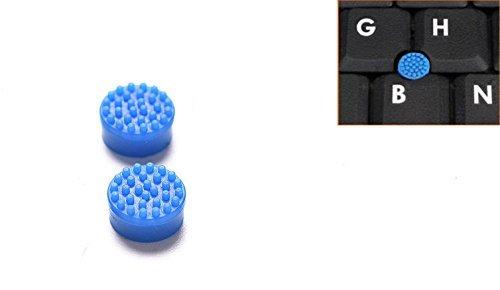 E×Hung E×Hung® トラックポイント 2個入 適用する ノートパソコン Dell デル ブルー