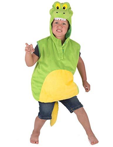 Generique - Disfraz de cocodrilo niño - 5-6 años (110-116 cm)