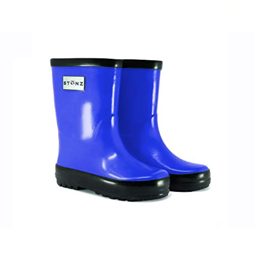 Stonz Natural Rubber Rain Boot (Toddler/Little Kid/Big Kid), Royal Blue, 12T