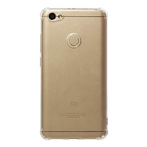 Casi Xiaomi Custodia Protettiva Antiurto in TPU for Xiaomi Redmi Nota 5A Prime/Redmi Y1 (Trasparente) Casi Xiaomi (Colore : Transparent)