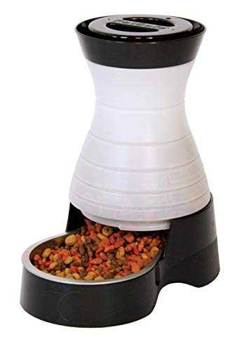 PetSafe Healthy Food Station – Stainless Steel Bowl – Dry Kibble Dispenser