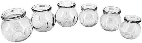 Royal Massage 6pc Fire Glass Cupping Jar Set