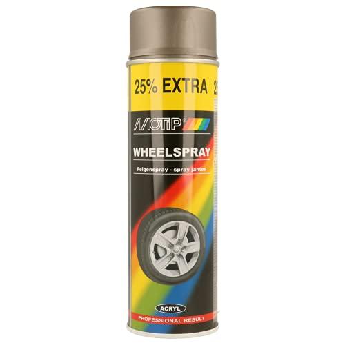 Motip 23404010 Llantas Plata Acero 500 ml