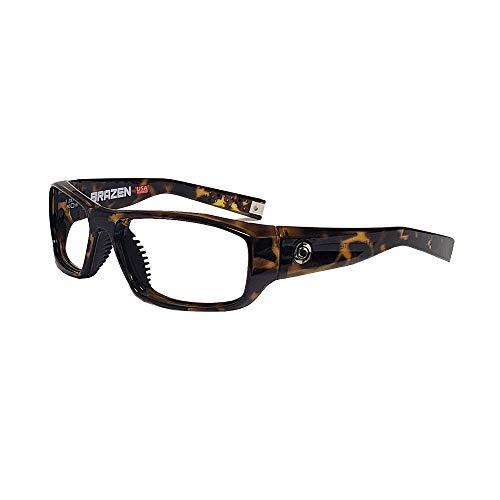 Barrier Brazen 0.75mm Pb Lead Leaded X-Ray Safety Radiation Protection Glasses | Anti Reflective Fog Free Lenses (Tortoise)