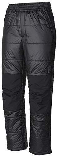 Mountain Hardwear Compressor Men's Pant for Cold-Weather Hiking, Trekking, and Everyday, Lightweight, Adjustable, Insulated - Black - Large Regular