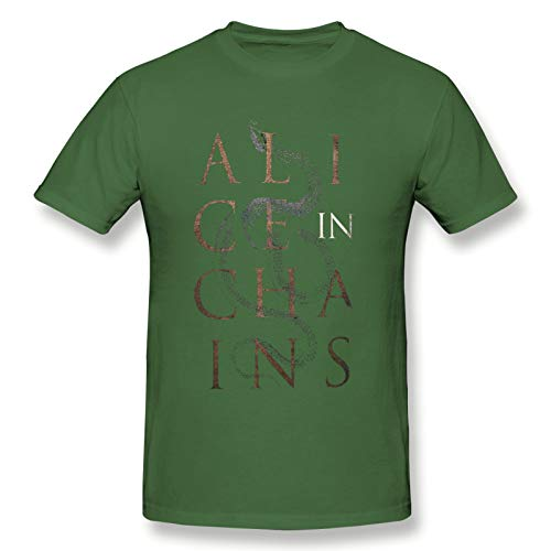 Alice In Chains13 Men Short Sleeve T-Shirt Music Breathable