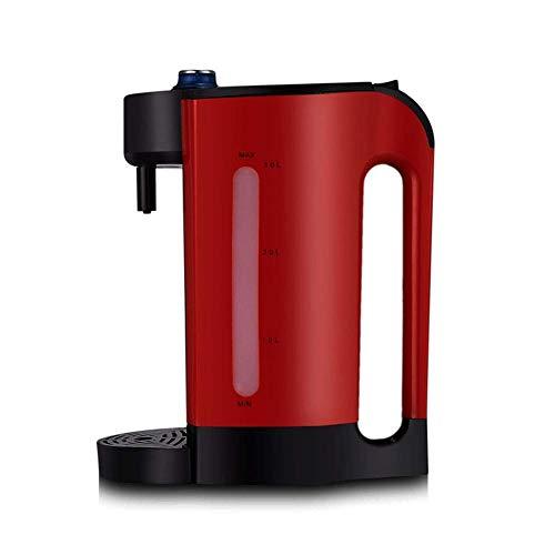 Instant Hot Water Dispenser, Warmwasserboiler 3L 3s ready-to-drink Wasserspender 4 Geschwindigkeit Wassertemperatur Einstellknopf Steuerung 304 Edelstahl-Liner umgebende Heizung, Schwarz SKYJIE